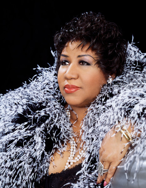 Aretha Franklin feathers by Matthew Jordan Smith