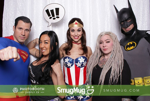 Superhero photobooth